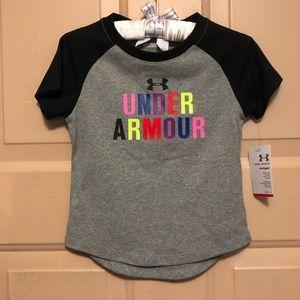 Under Armour Boy's Grey Heatgear T-shirt